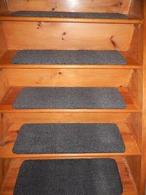 Peel And Stick Flexible Vinyl Rubber Outdoor Indoor Stair Treads | Self Stick Carpet Stair Treads | Stair Nosing | Stairway | Anti Slip | Stick Bullnose Wraparound | Beaudoin Utility Peel