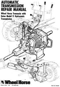 Toro Transmission Hydro Eaton 11 Service Manual #492-4205