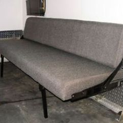 Sofa Bed For Rv Couchbezug Big Trailer Rollover Convertible Beds Couch Sleeper Ebay Image Is Loading
