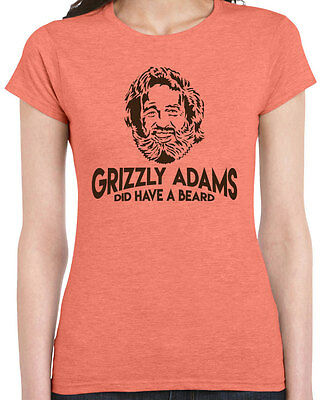 Grizzly Adams Did Have A Beard : grizzly, adams, beard, Grizzly, Adams, Beard, Womens, T-shirt, Funny, Sandler, Movie, Quote