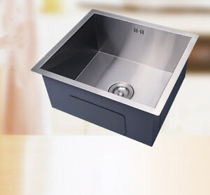 single bowl stainless kitchen sink confidential book square small handmade steel undermount image is loading