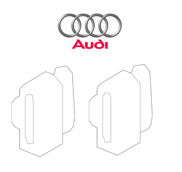 audi a6 c6 tail light wiring diagram citroen c4 abs 3 2 lamp wire harness plug ebay for a3 a4 a5 a7 a8 q3 q5 s4 pair set of headlight