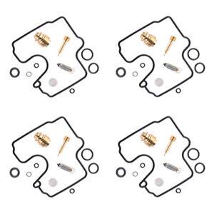 4Set Carburetor Carb Repair Kits Fit For Kawasaki ZX6R