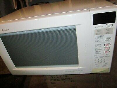 sharp carousel ii convection microwave oven model 930aw p local pick up only ebay