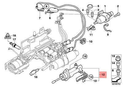 Genuine BMW E60 E61 E63 E64 Coupe Clutch Actuator With