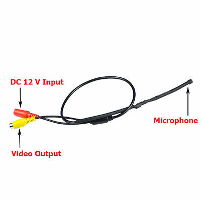 Mic Mini Audio Hidden Microphone for All CCTV Security