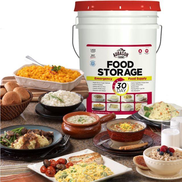 307 Servings 30Day Food Storage Emergency Supply Bucket Rations Kit Survival mre 2