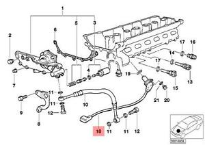 Genuine BMW E36 Cabrio Coupe Camshaft Position Sensor CPS