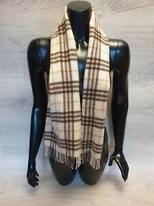 Authentic Burberry Scarf : authentic, burberry, scarf, Authentic, Burberry, Scarf, Cashmere, Check, Inches, Unisex
