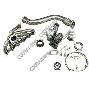 CXRacing GT35 Turbo Downpipe Catback kit For 84-91 BMW 3