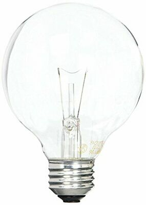 GE Lighting 12980 40-Watt 410-Lumen G25 Globe Light Bulbs