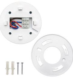 surface mount pir ceiling occupancy motion sensor detector light switch 360  [ 1200 x 1200 Pixel ]