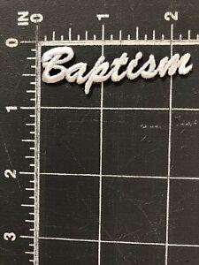 details about baptism patch