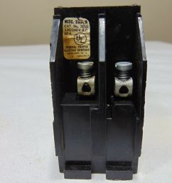 federal pacific fpe 301g 30 amp 120 240v fuse pullouts for sale online ebay [ 1200 x 1600 Pixel ]