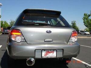 2002 subaru impreza wrx wagon exhaust