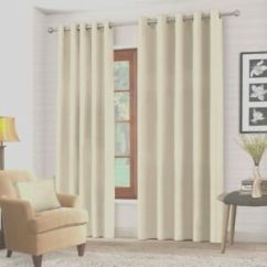 Cream Living Room Curtains Paint Schemes For Blackout Ring Top In Bedroom 66 Image Is Loading