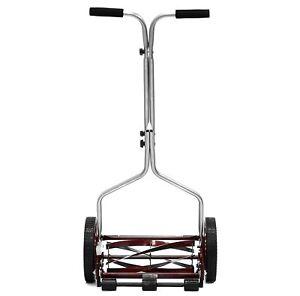 Reel Lawn Mower Manual Hand Push Grass Cutter Lightweight