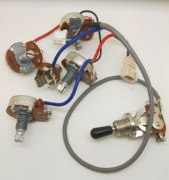original electric guitar pickup wiring harness kits for epiphone les paul sg for sale online ebay [ 1560 x 1600 Pixel ]