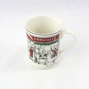Noritake Epoch Collection Bloomingdales Christmas Mug Le Restaurant | eBay