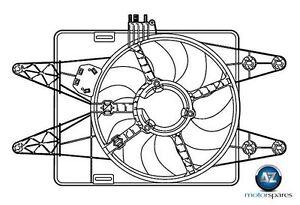 FOR FIAT DOBLO 1.9D + VAN CARGO 2001-> NEW RADIATOR