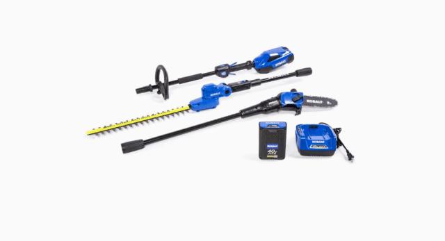 Kobalt 2-Piece 40-Volt Cordless Power Equipment Combo Kit
