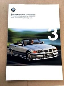 1998 Bmw 328i For Sale : 328Ci, 323Ci, Convertible, 32-page, Sales, Brochure, Catalog