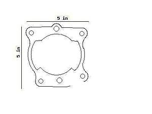 YAMAHA IT175 YZ125 YZ IT 175 125 CYLINDER BASE 3R3-11351