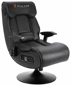 gaming chair 5 1 surround sound wheelchair for patients x-rocker elite pro ps4 xbox one 2.1 audio faux leather | ebay