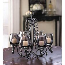 Candle Holder Midnight Elegance Centerpiece Candleholder Or Chandelier New