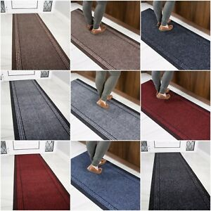 long kitchen rugs industrial sink hall runner non slip narrow heavy duty 66cm width image is loading
