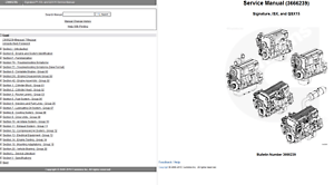 Cummins Signature ISX 435ST TECH Service Repair Manual