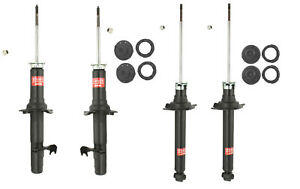 KYB Front and Rear Suspension Struts & Mounts Kit For