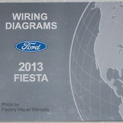 Wiring Diagram For Ford Fiesta Lower Back Exercises 2013 Electrical Diagrams Factory Shop Manual Ebay Image Is Loading