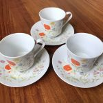 3 Vtg Jepcor Wilshire House Fine China English Garden Tea Cup Saucer Japan Ebay