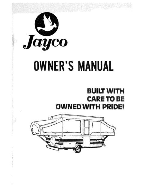 1980 Jayco Jay Cardinal King Swift Thrush Dove Popup
