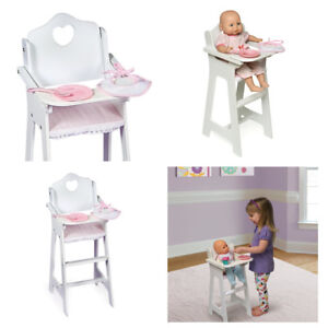 american girl high chair wheelchair van ramp baby doll food furniture accessories image is loading