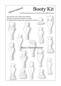 Mermaid Skirt Pattern : mermaid, skirt, pattern, BOOTY, Sewing, Pattern, AFRICAN, SIZING, Ankara, Inspired, Dress, Mermaid, Skirt