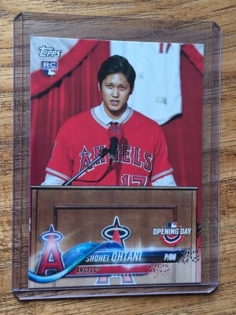 2018 TOPPS OPENING DAY SHOHEI OHTANI ROOKIE CARD No.200 ...