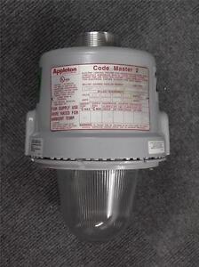 details about appleton 250 watt hid explosion proof light fixture code master 2 cmbp250mt