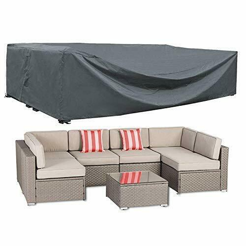 patio furniture cover outdoor sectional furniture covers waterproof dust proof yard garden outdoor living home garden
