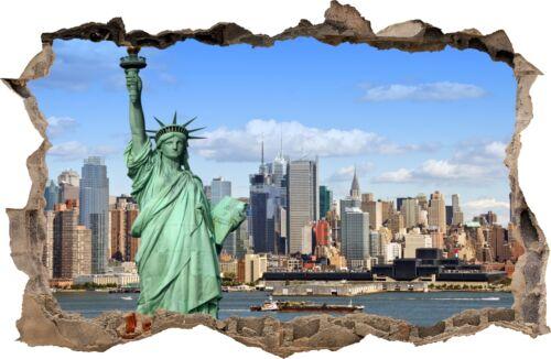 Adesivo murale raffigurante lo skyline di new york per decorare con gusto la sala, lo studio. Home Decor Adesivi Murali Buco Nel Muro New York City Ny Decorazioni Murali 06 Home Garden