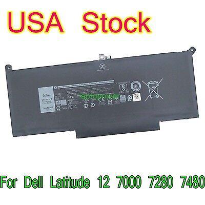 F3YGT Battery for Dell Latitude 12 7000 7290/13 7000 7380 7390/14 7000 7480 7490 5057363863518 | eBay