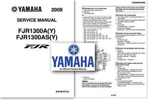 Yamaha FJR1300 Service Workshop Repair Shop Manual FJR