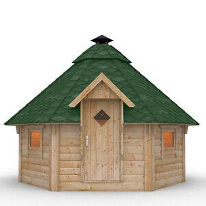 details sur cabane de barbecue en bois gril avec un gril de jardin toiture a choisir abri