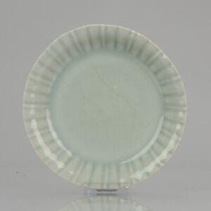 Ca 18/19th C Japanese Celadon Porcelain Edo Period Dish Antique Japan