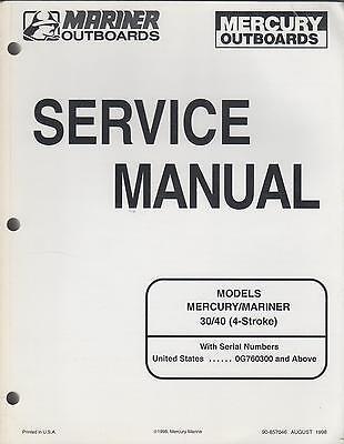 1999 MARINER/MERCURY 30/40 4-STROKE (90-857046) OUTBOARD