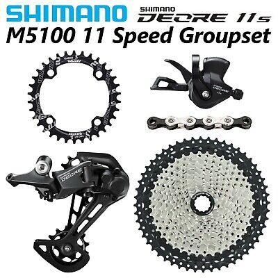 Shimano DEORE M5100 1x11-Speed MTB Groupset 11-46/50/52T