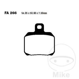 EBC V Semi Sintered Rear Brake Pads FA266V Moto Guzzi