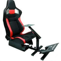 Best Gaming Chair For Ps4 Stool Target Racing Simulator Cockpit W Gear Shifter Mount