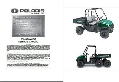 2004 Polaris Ranger TM / 2X4 / 4X4 / 6X6 Service Manual on